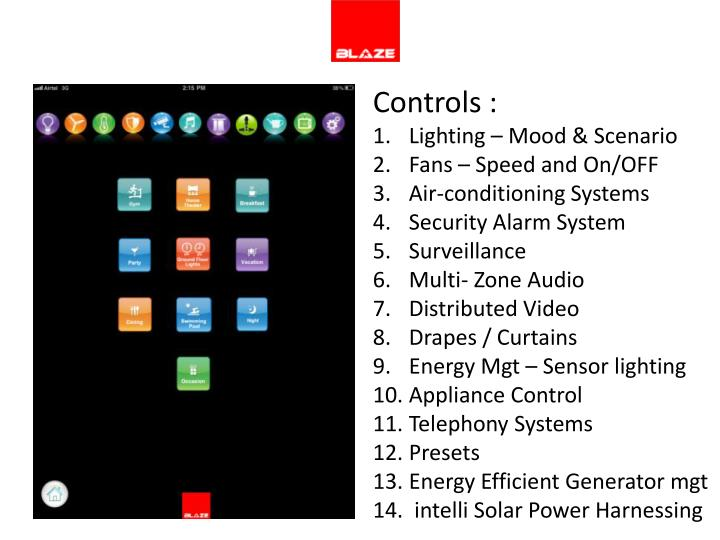 Controls :