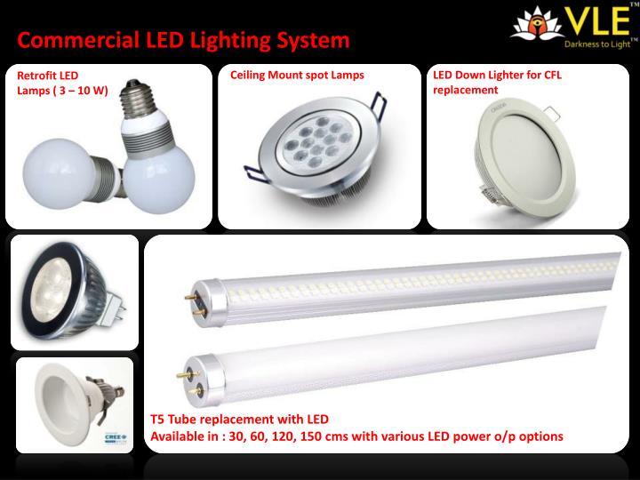 Commercial LED Lighting System