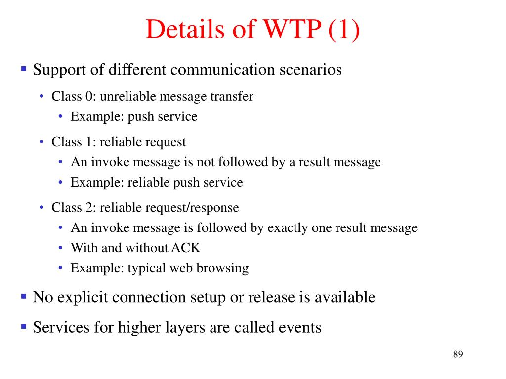 Details of WTP (1)