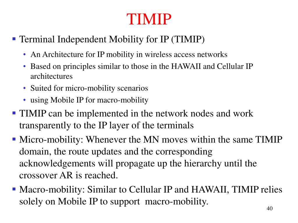 TIMIP