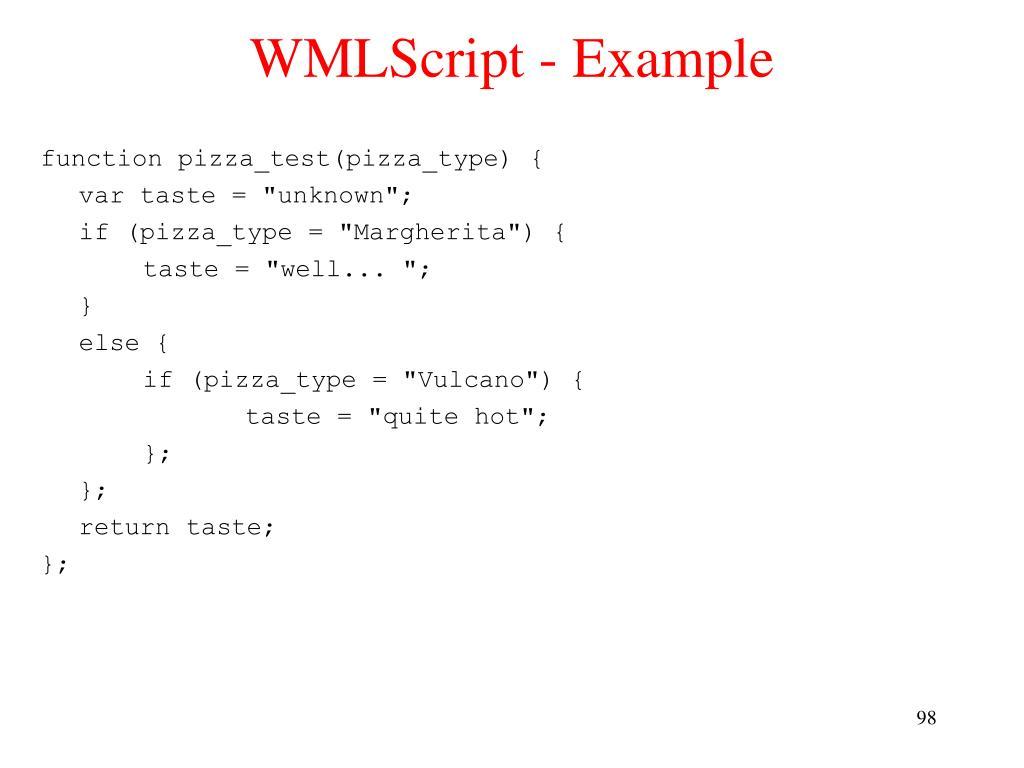 WMLScript - Example