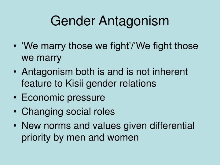 Gender Antagonism