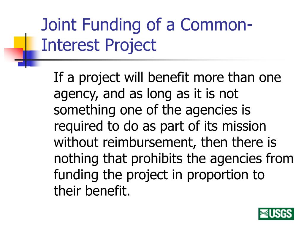 Joint Funding of a Common-Interest Project