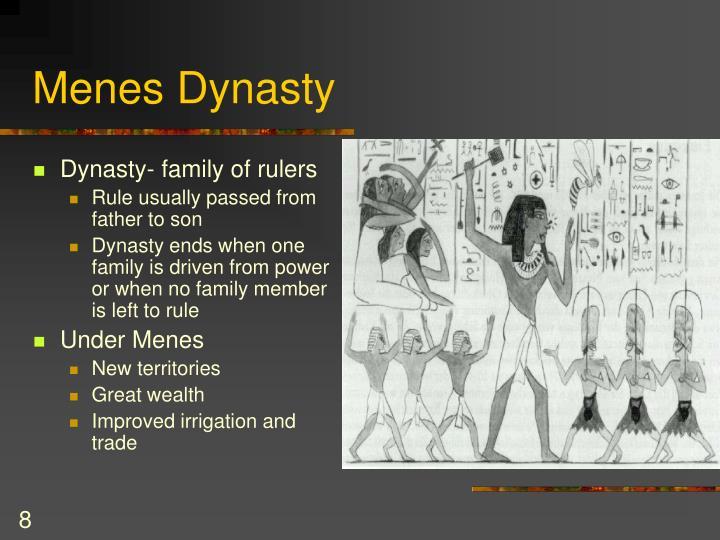 Menes Dynasty