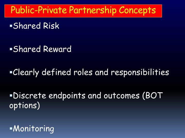 Public-Private Partnership Concepts