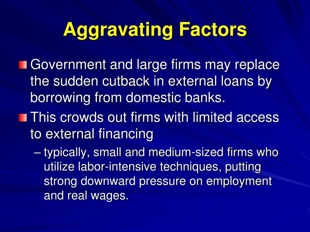 Aggravating Factors
