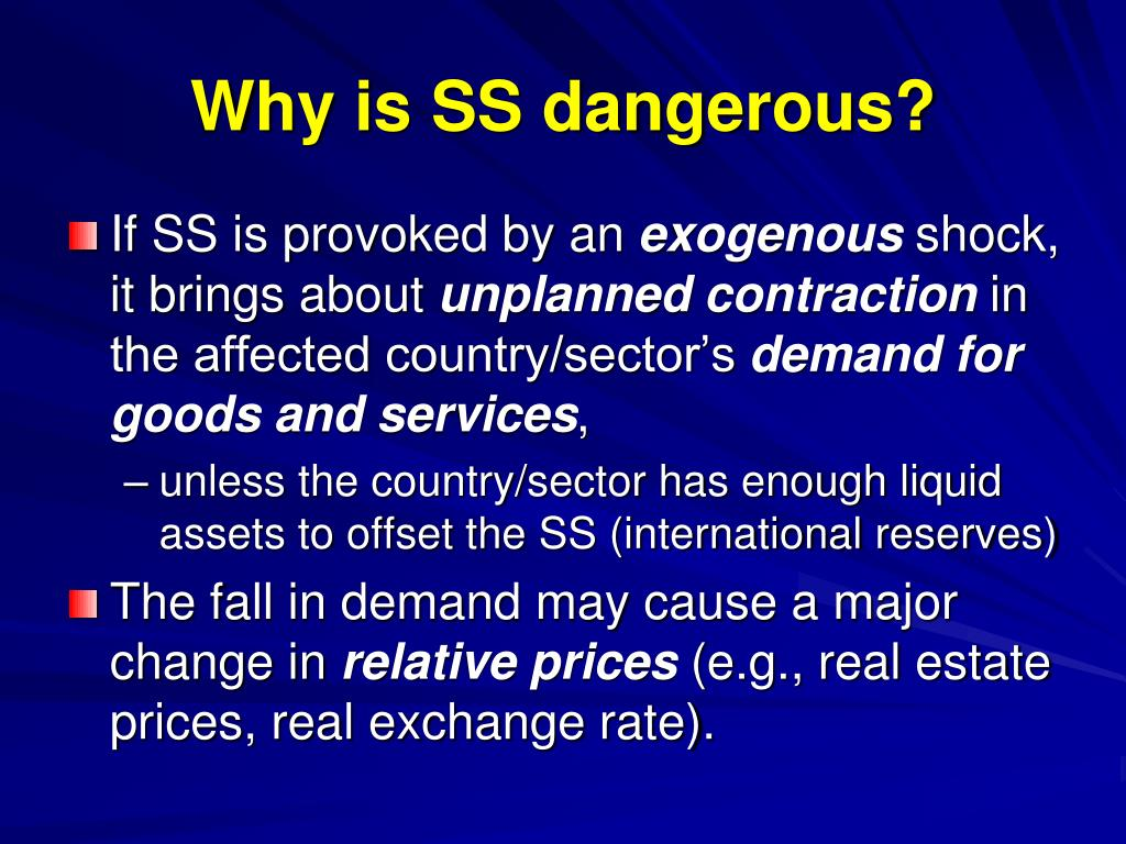 Why is SS dangerous?