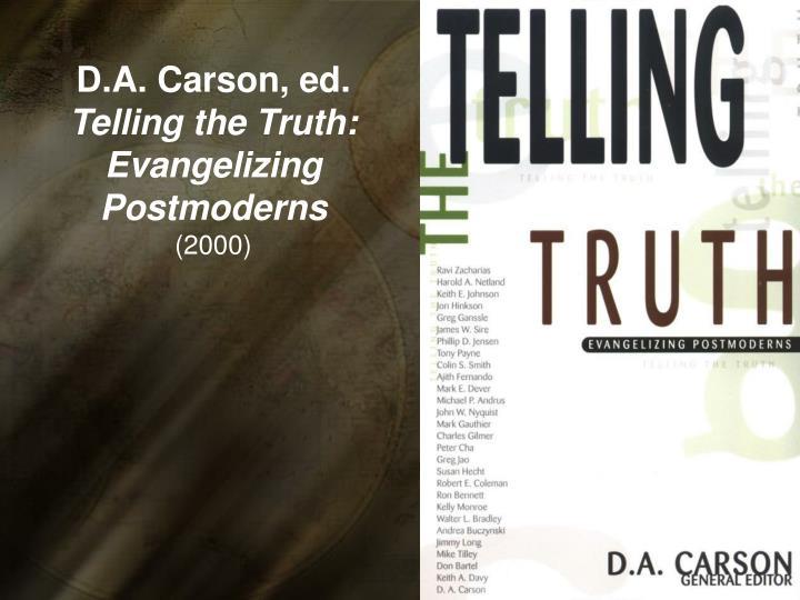 D.A. Carson, ed.