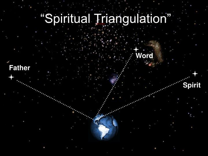 """Spiritual Triangulation"""