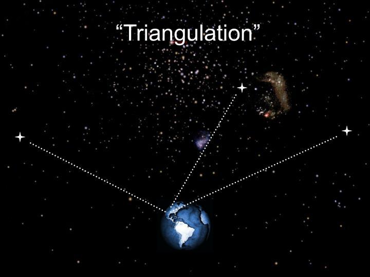 """Triangulation"""