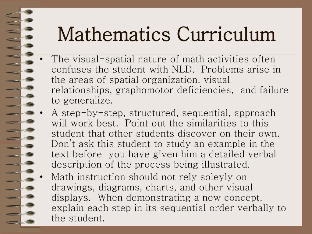 Mathematics Curriculum