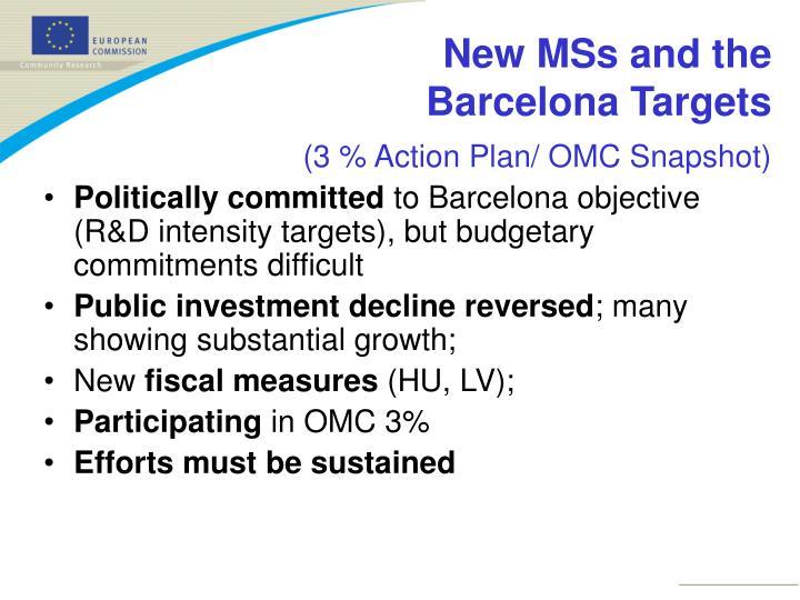 (3 % Action Plan/ OMC Snapshot)