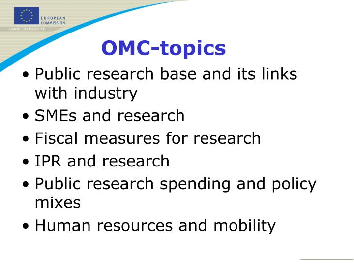 Public research base and its links with industry
