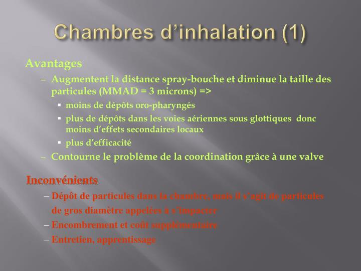 Ppt asthme powerpoint presentation id 1435051 for Chambre d inhalation