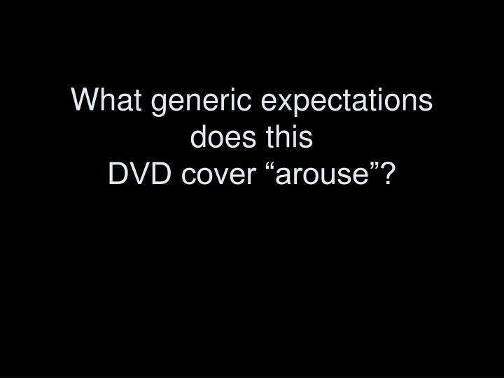 What generic expectations