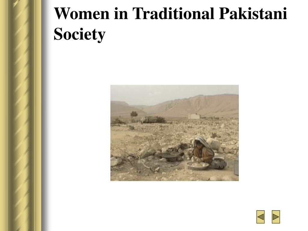 Women in Traditional Pakistani  Society