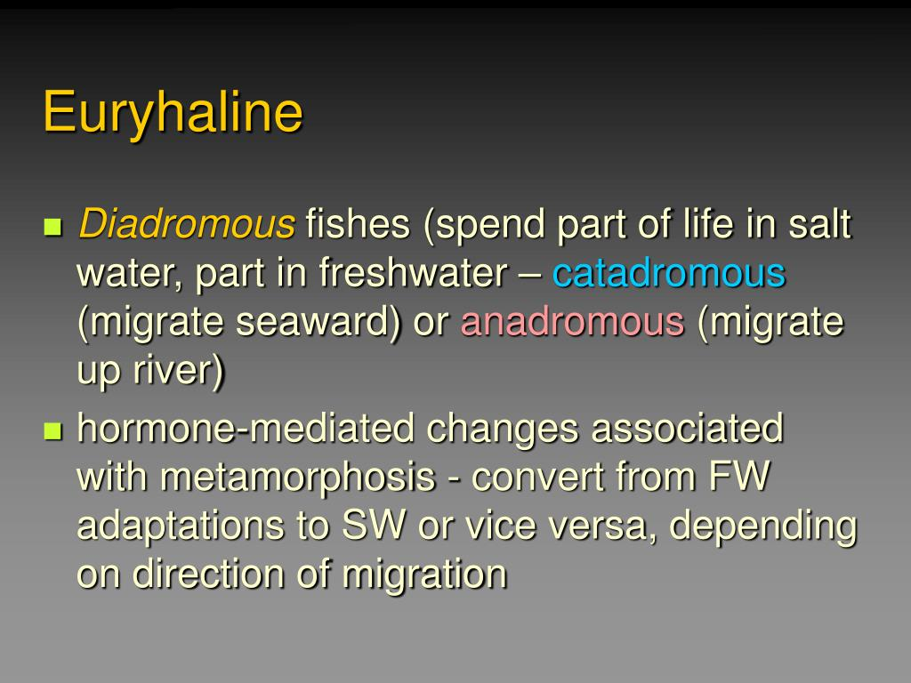Euryhaline