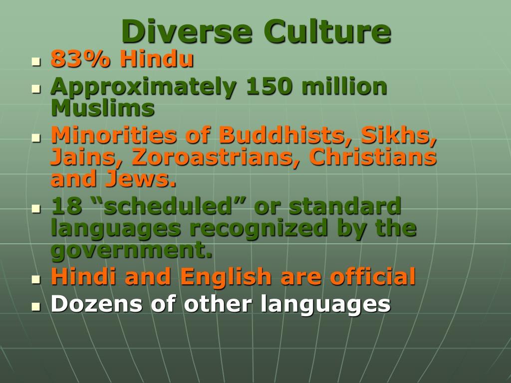 Diverse Culture