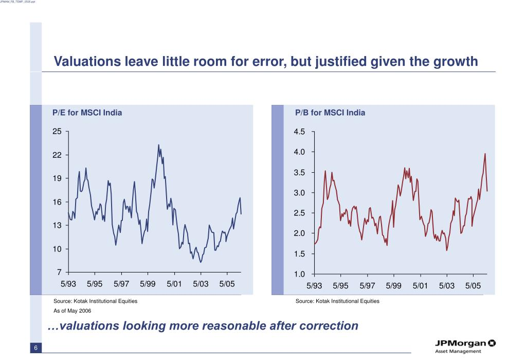 Valuations leave little room for error, but justified given the growth