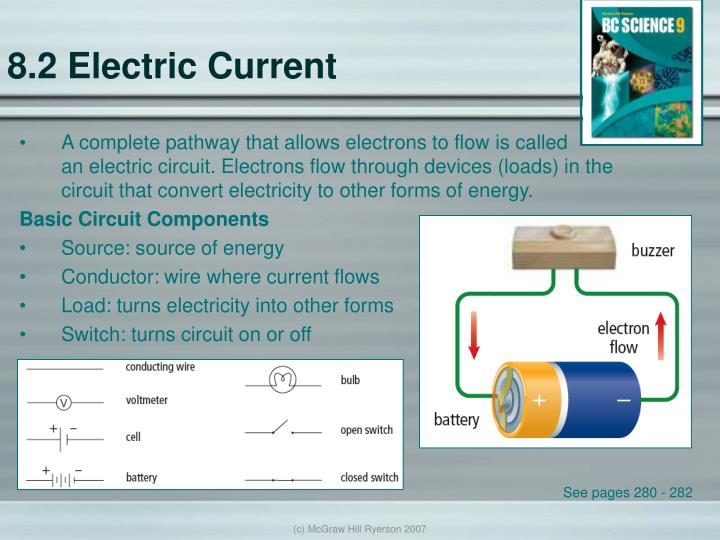 8.2 Electric Current