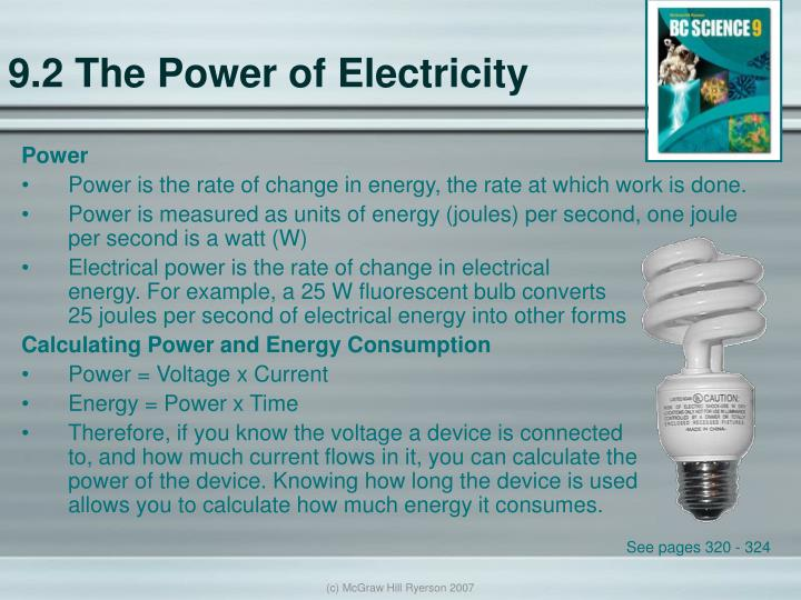 9.2 The Power of Electricity
