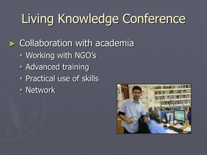 Living Knowledge Conference
