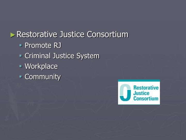 Restorative Justice Consortium