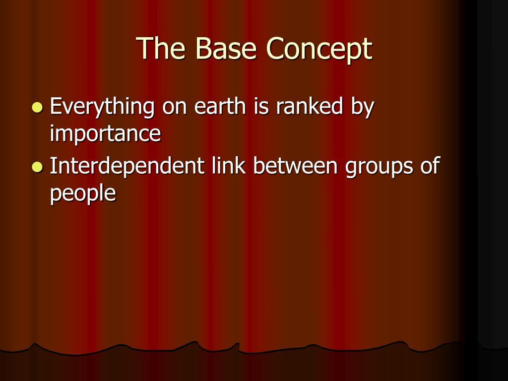 The Base Concept