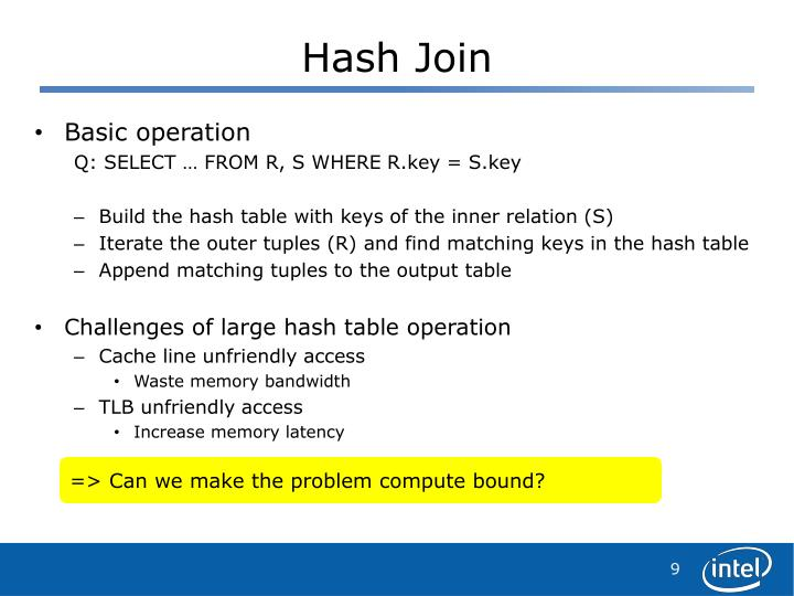 Hash Join