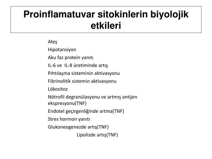 Proinflamatuvar
