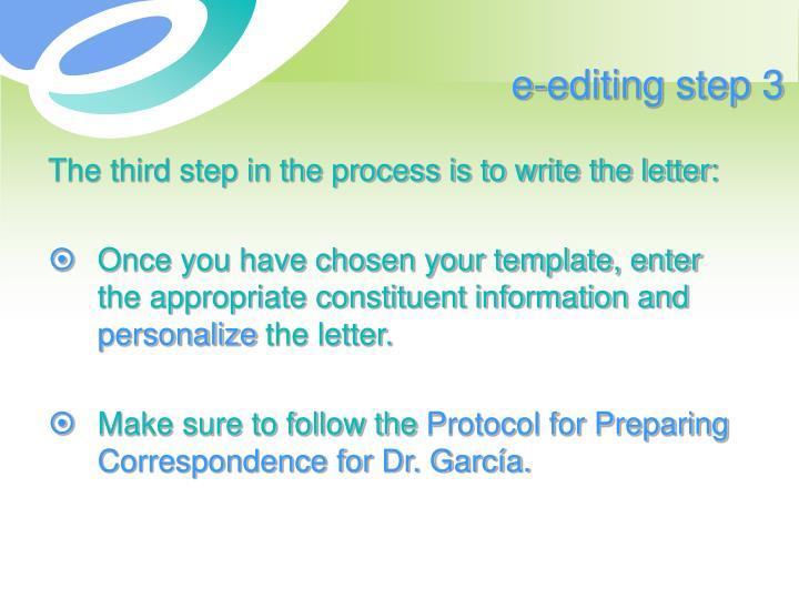 e-editing step 3