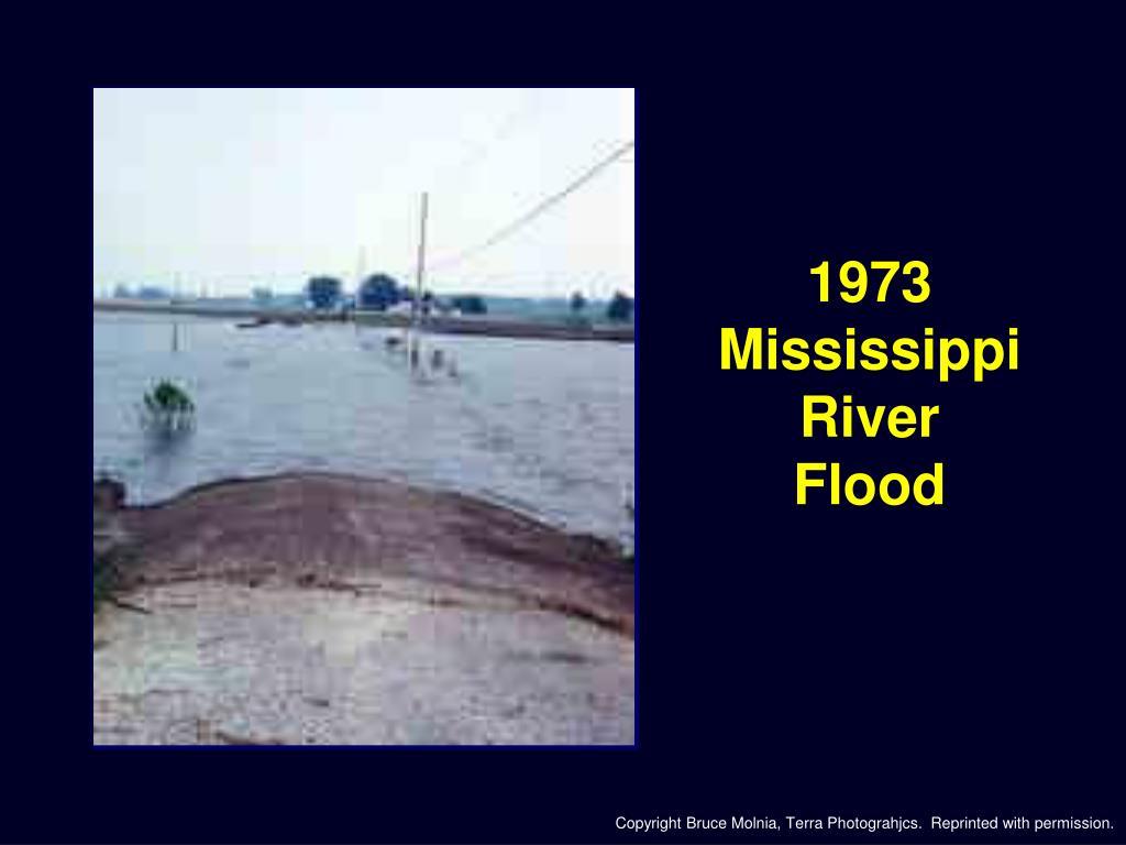 1973 Mississippi River
