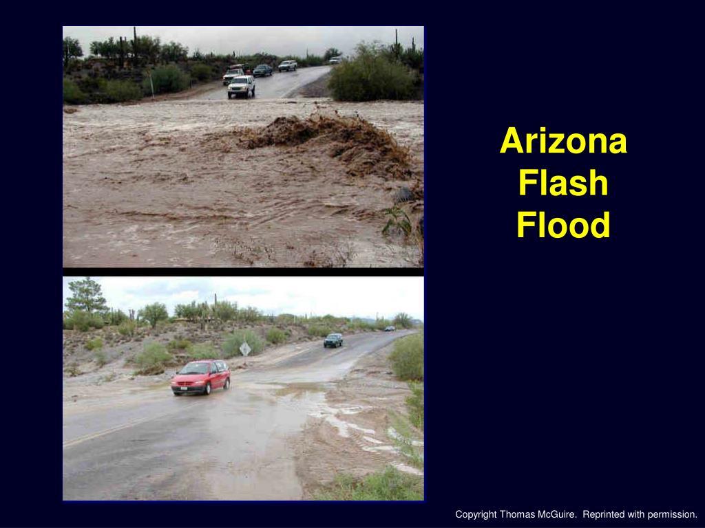 Arizona Flash Flood