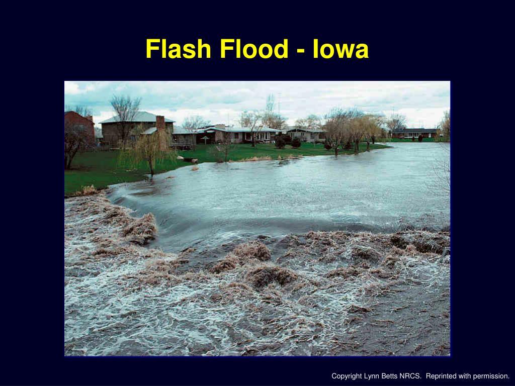 Flash Flood - Iowa