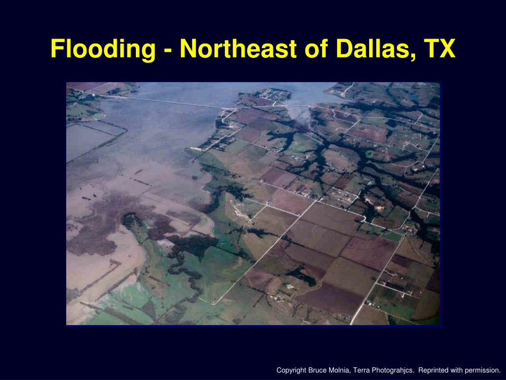 Flooding - Northeast of Dallas, TX