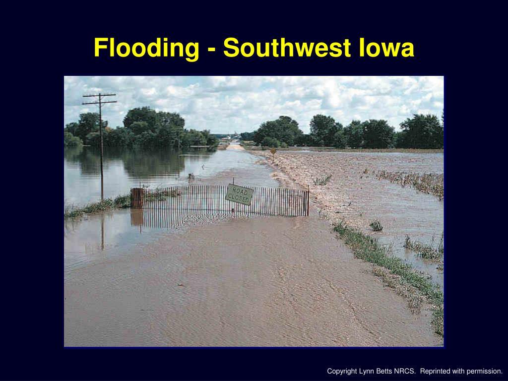 Flooding - Southwest Iowa