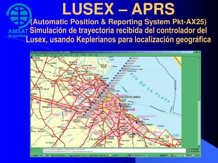 LUSEX – APRS