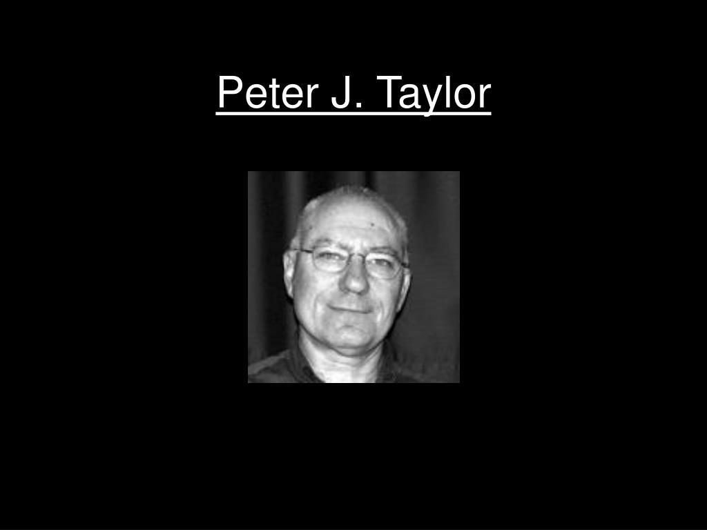 Peter J. Taylor