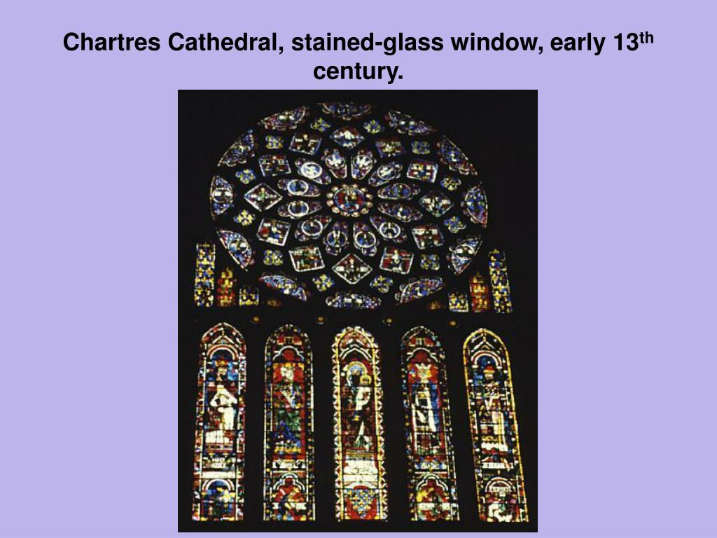 Chartres Cathedral, stained-glass window, early 13