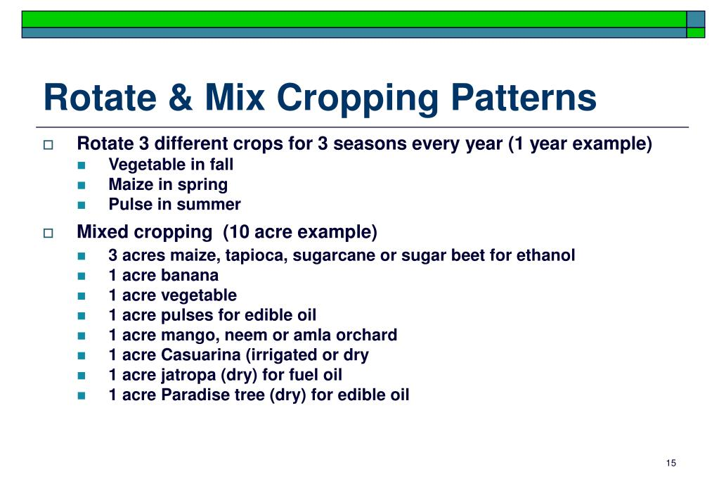 Rotate & Mix Cropping Patterns