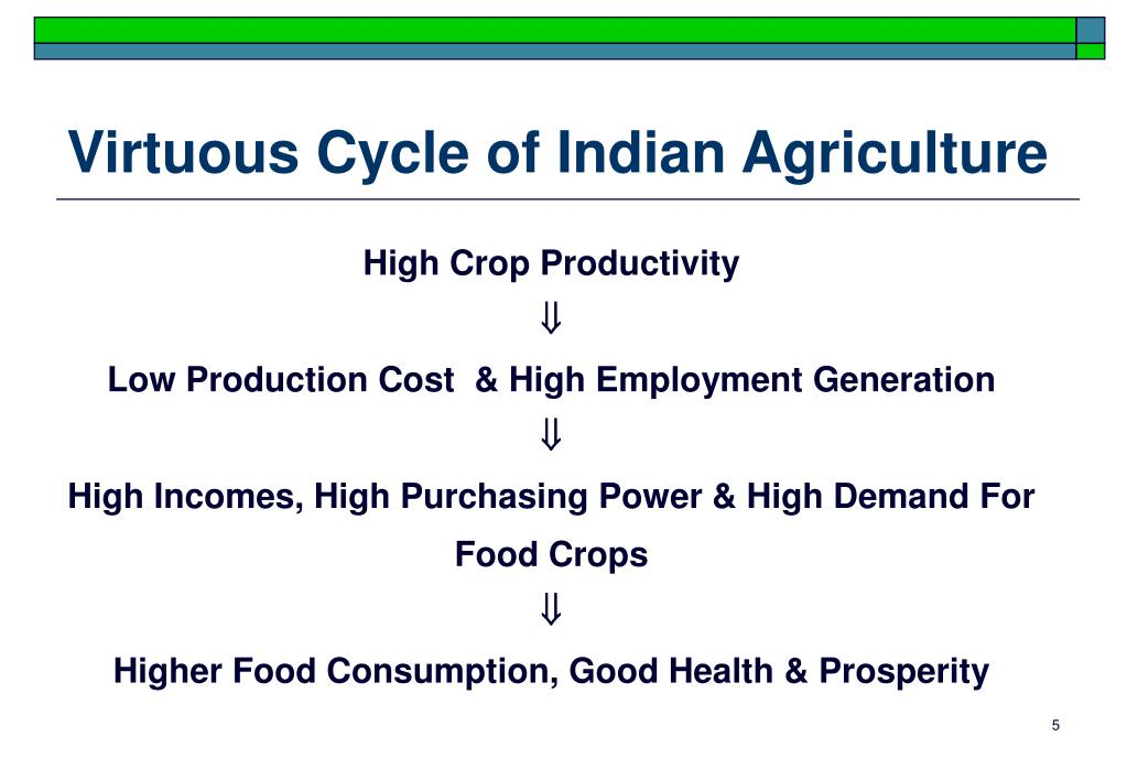 Virtuous Cycle of Indian Agriculture