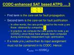 codc enhanced sat based atpg 3