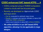 codc enhanced sat based atpg 4