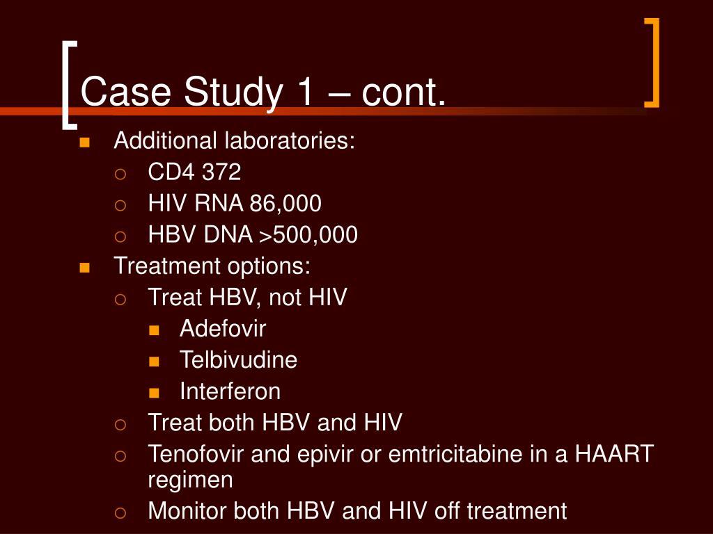 Case Study 1 – cont.