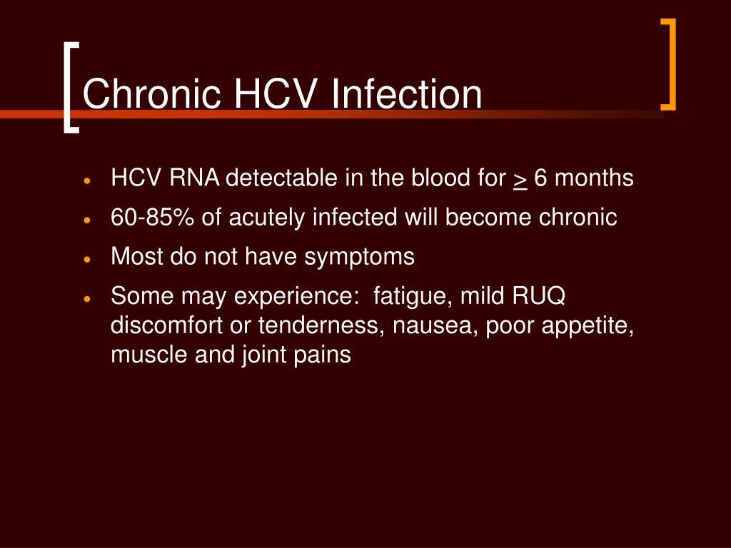 Chronic HCV Infection