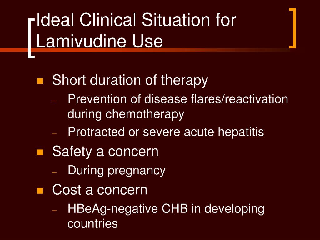 Ideal Clinical Situation for