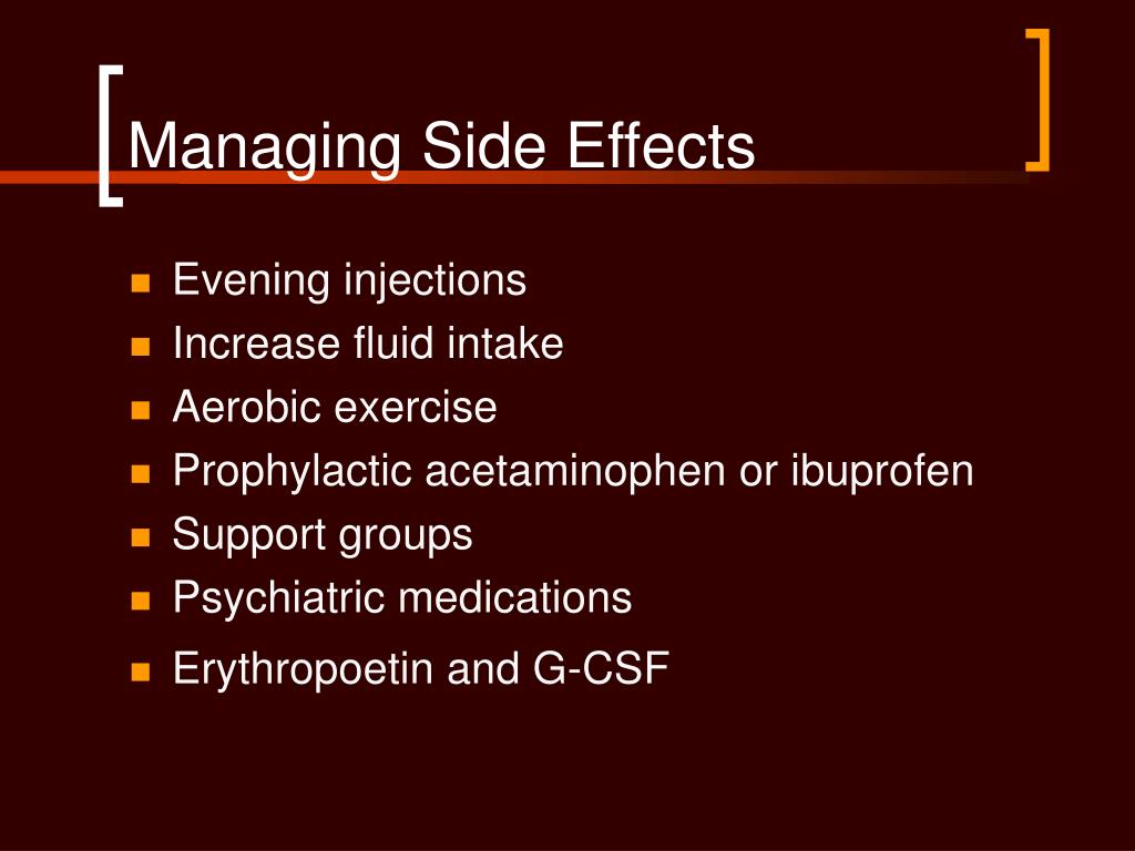 Managing Side Effects