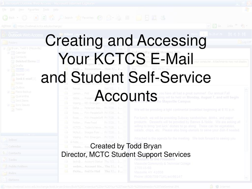 Creating and Accessing