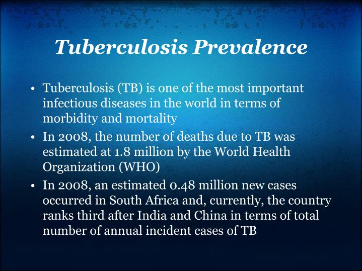 Tuberculosis Prevalence