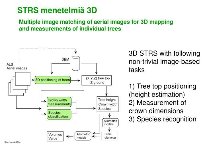 STRS menetelmiä 3D